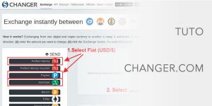 How to use Changer.com