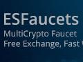 ESFaucet - Multi-Coin Faucet
